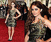 Lily Collins at 2010 Costume Institute Gala