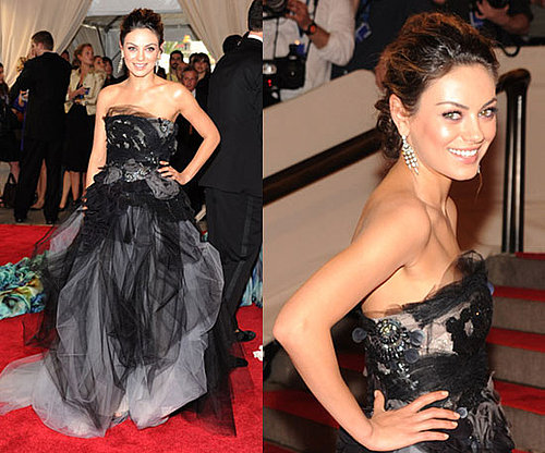 Mila Kunis at 2010 Met Costume Institute Gala