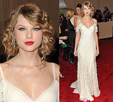 Taylor Swift at 2010 Costume Institute Gala