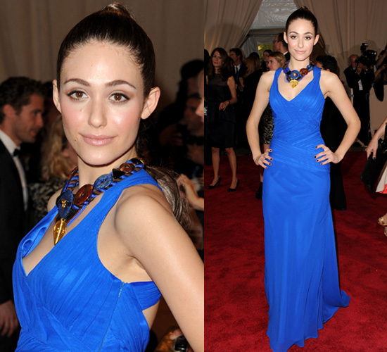 Emmy Rossum at 2010 Costume Institute Gala