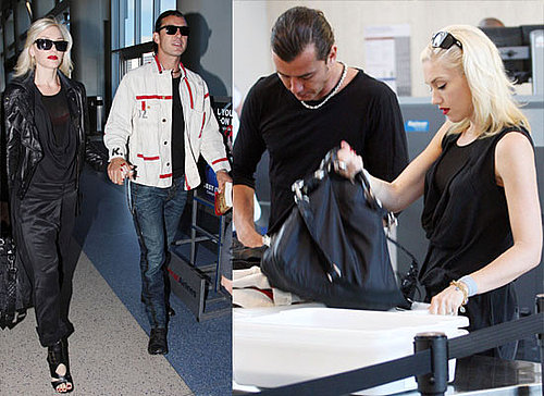 Photos of Gwen Stefani and Gavin Rossdale at LAX Airport, Gavin States Their Marriage is Fine Despite Courtney Love rumours
