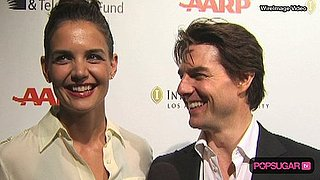 Video of Tom Cruise and Katie Holmes at LA Benefit