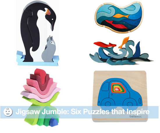Jigsaw Jumble: Six Puzzles That Inspire