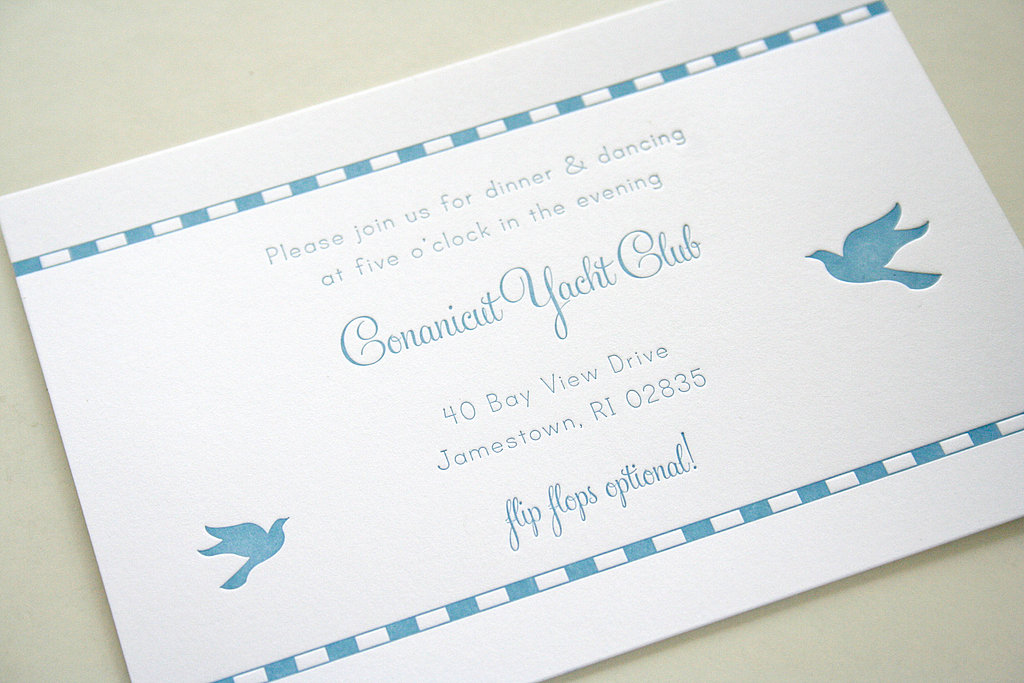 Reception-only invites