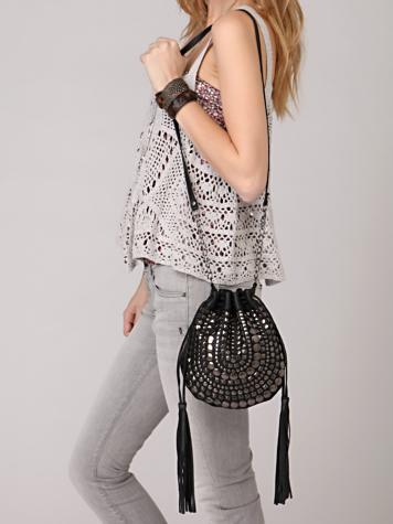Studded Side Sling Bag at Free People Clothing Boutique