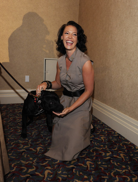 Katherine Heigl and Her Dog, Apollo