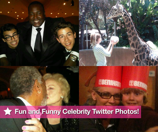 Jonas Brothers, Lauren Conrad, Jenny McCarthy, and Betty White in This Week's Fun and Funny Celebrity Twitter Photos!