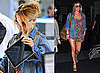 Pictures of Jessica Simpson Arriving in NYC