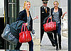 Pictures of Cameron Diaz Leaving Alex Rodriguez's NYC Apartment