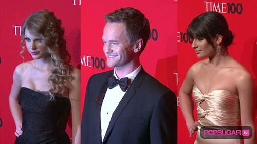Taylor Swift, Neil Patrick Harris, and Lea Michele at Time 100 Gala