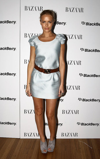 RAFW 2010: Harper's BAZAAR & BlackBerry's White Bold Party