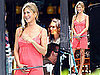 Pictures of Jennifer Aniston In Pink With a Side Braid On Set in Hawaii