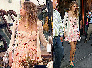 Pictures of Taylor Swift Shopping For Antiques in NYC