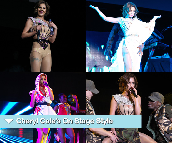 Photos of Cheryl Cole On Stage at 02 Arena Supporting Black Eyed Peas