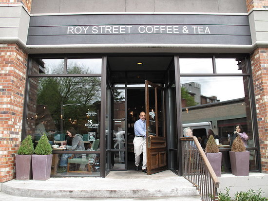 Take a Step Into Starbucks's Roy Street Coffee & Tea