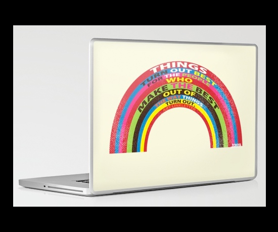 Society 6 Laptop Skins ($30)