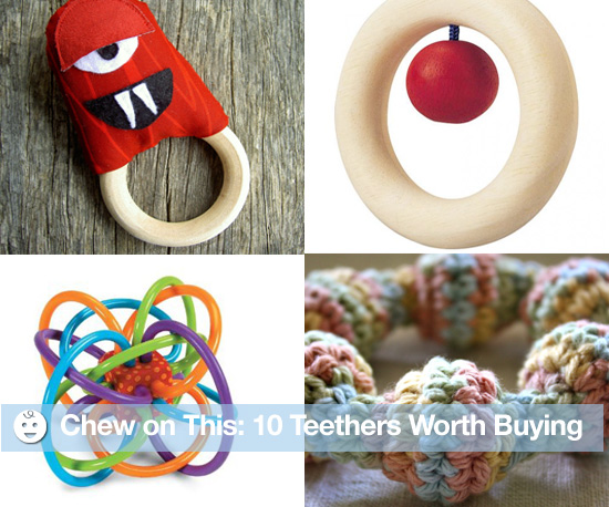 Chew on This: 10 Teethers Worth Buying