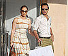 Slide Picture of Jennifer Lopez and Marc Anthony Shopping in St. Tropez