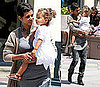 Pictures of Halle Berry and Nahla Aubry on Mother's Day