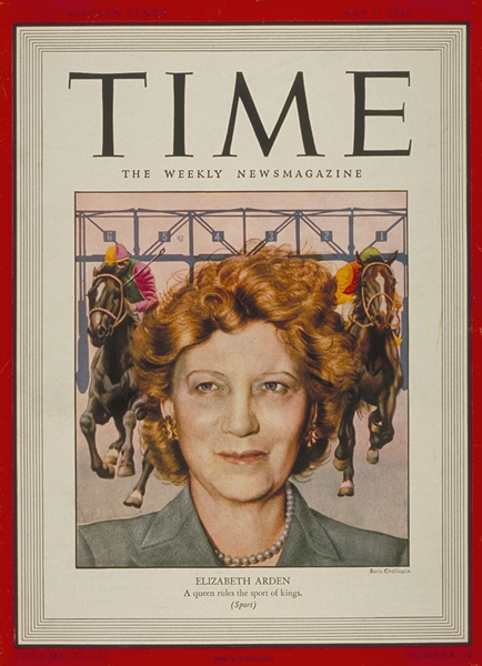Miss Arden's TIME Magazine Cover