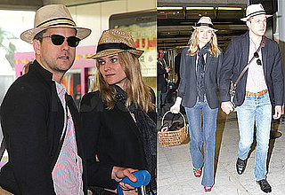 Pictures of Joshua Jackson and Diane Kruger Arriving In Nice