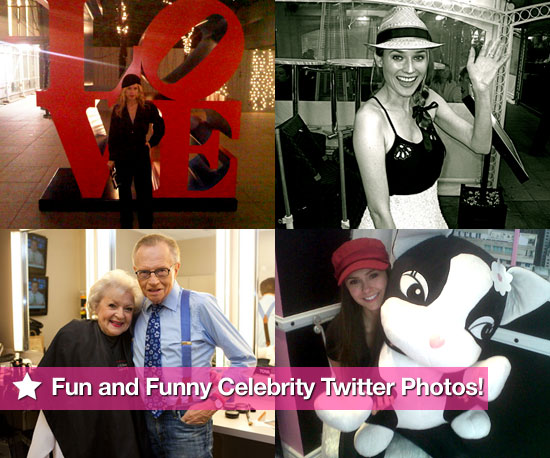 Rachel Zoe, Diane Kruger, Betty White, and Nina Dobrev in This Week's Fun and Funny Celebrity Twitter Photos!