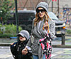Slide Picture of Sarah Jessica Parker and James Wilkie Walking in New York