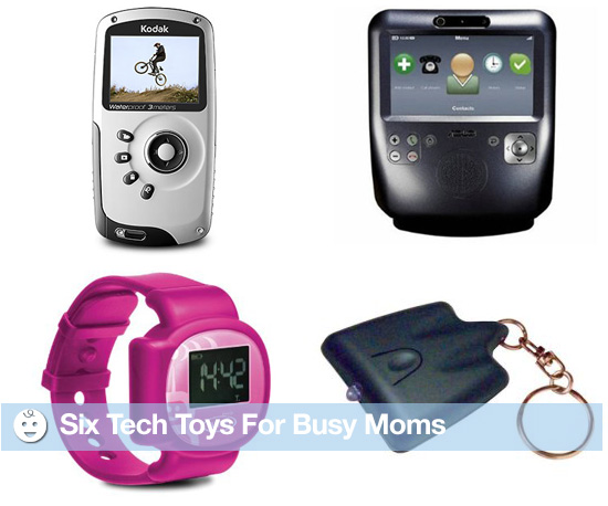 Six Tech Toys For Busy Moms