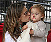 Slide Picture of Alessandra Ambrosio and Daughter Anja