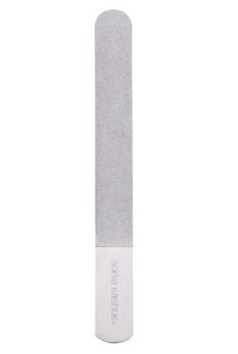 I've taken a nail file — like this Sonia Kashuk® Nail File  ($5) — to some compromising areas on the actual shoe or sandal. Find the tough spot and give it a sand down, and it will loosen up the material that's pressing against your skin.