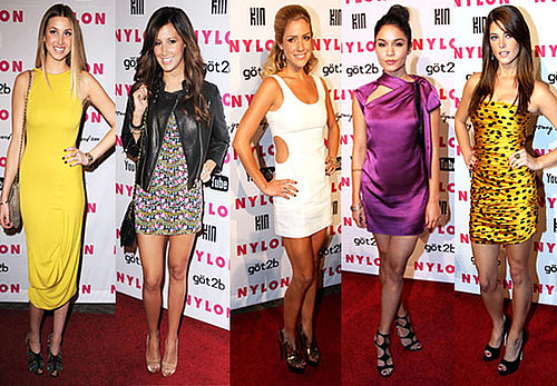 Celebrities at the 2010 Nylon Young Hollywood Party in LA