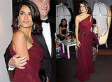 Photos of Salma Hayek at Opening Night of Cannes in Gucci Couture