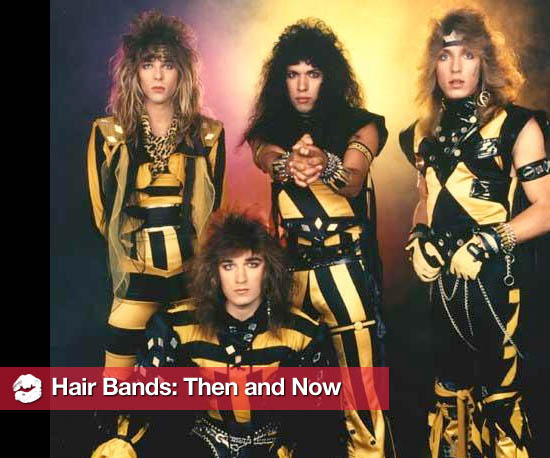 Hair Metal Bands: Then and Now