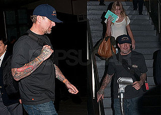 Pictures of Jesse James And Chandler James Returning to LAX; News Jesse Was Present at Sandra Bullock's People Shoot With Louis