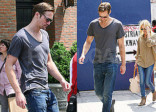 Pictures of Kate Bosworth and Alexander Skarsgard Walking Together in NYC