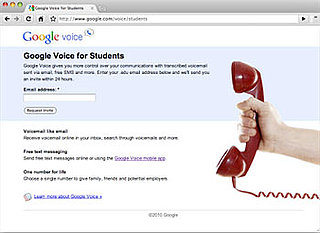 Students Get Priority Invites to Google Voice