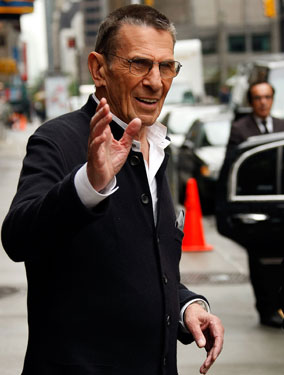 Leonard Nimoy Talks About Fringe and Retirement