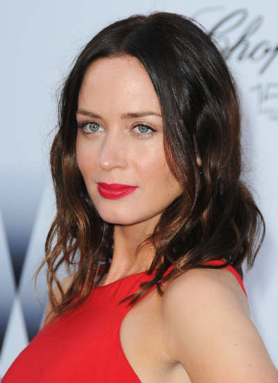 Emily Blunt at amfAR's Cinema Against AIDS Gala