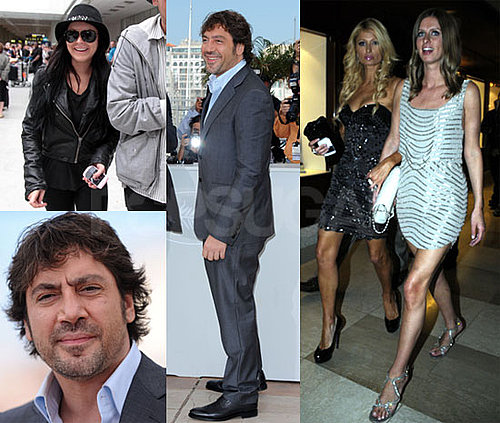 Pictures of Paris Hilton, Lindsay Lohan, Javier Bardem, and Naomi Watts During the 2010 Cannes Film Festival