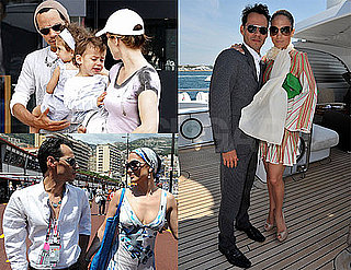 Pictures of Jennifer Lopez and Marc Anthony in Cannes, France