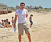 Slide Picture of John Krasinski on the Beach in New York