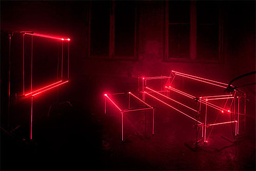 Laser Lounge From United Visual Artists