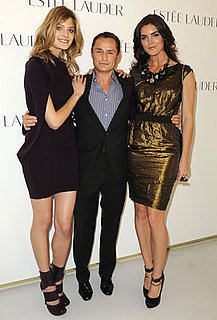 Estee Lauder Paris Launch Party For Tom Pecheux, Constance Jablonski, and Pure Color Night