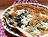 Crustless Leek, Greens, and Herb Quiche Recipe