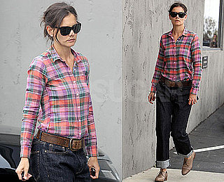 Pictures of Katie Holmes In LA As Chris Klein Mama Mia Video Surfaces