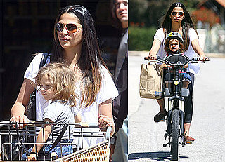 Pictures of Camila Alves And Levi McConaughey Shopping in LA