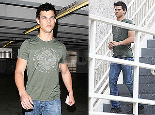 Picture of Taylor Lautner in LA