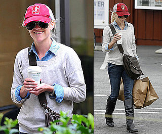 Pictures of Reese Witherspoon Before Shooting Water For Elephants
