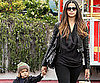 Slide Picture of Camila Alves and Levi in Malibu