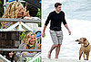 Pictures of Kate Hudson, John Krasinski, Ginnifer Goodwin Filming Something Borrowed in the Hamptons